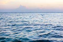 Sea at dawn Stock Photos