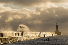 Sea defence Royalty Free Stock Photography