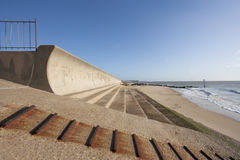 Sea defences Royalty Free Stock Photos