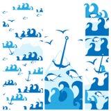 Sea design Stock Photos
