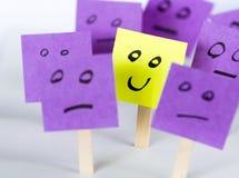 Sea diferente, sea feliz Fotografía de archivo libre de regalías
