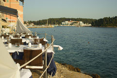 Sea dining Stock Photography