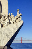 Sea-Discoveries monument in Lisbon, Portugal Royalty Free Stock Photos
