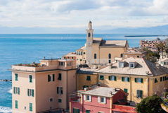 Sea district of Genoa. Boccadasse, a sea district of Genoa Stock Image