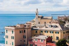 Sea district of Genoa Stock Image