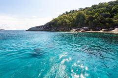 Sea for diving at Koh Payu, Similan island, Thailand Stock Photos