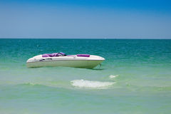Sea Doo Sportster Jet Boat Royalty Free Stock Photos