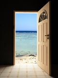 Sea door Stock Image
