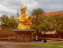 Sea Dragon, a security guard Phuket. Royalty Free Stock Photo
