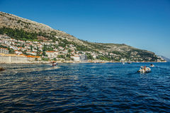 Sea in Dubrovnik Royalty Free Stock Photo