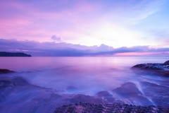 Sea at dusk. Stock Photo