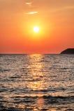 Sea dusk Royalty Free Stock Image