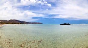The Sea At Elafonisi Beach Royalty Free Stock Image