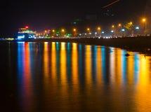 Sea embankment in Vung Tau, Vietnam Royalty Free Stock Photos
