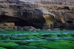 Sea erosion Stock Photos