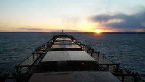 A Sea evening stock image