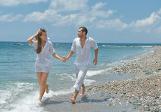 Sea and family Royalty Free Stock Photo