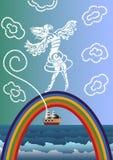 Sea fantasy Stock Photo