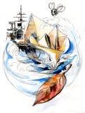 Sea Fantasy  Stock Photography