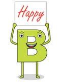 Sea feliz Imagen de archivo libre de regalías