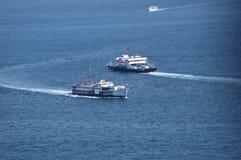 Sea ferry. Across bospurus strait Stock Images