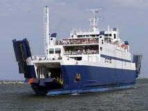 Sea ferry. In Black Sea Stock Image