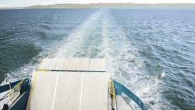 Sea Ferry stock video