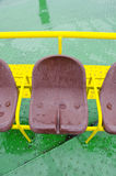 Sea ferryboat seats Royalty Free Stock Image