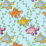 Sea-fish-pattern Royalty Free Stock Image