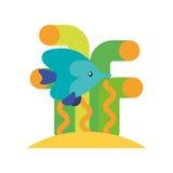 Sea fish swiming icon. Vector illustration design Stock Photography