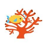 Sea fish swiming icon. Vector illustration design Stock Photo