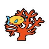 Sea fish swimming icon. Vector illustration design Stock Image