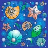 Sea fish wild life summer. Sea fish wild life, summer ocean style Stock Photo