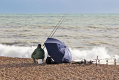 Sea Fisherman Royalty Free Stock Images