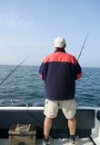 Sea fishing. Stock Photo