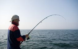 Free Sea Fishing. Stock Photos - 2496243