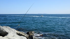 Sea fishing Stock Photo