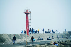 Sea Fishing Stock Image