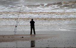 Sea fishing. royalty free stock images