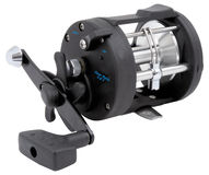 Sea fishing reel Stock Photo