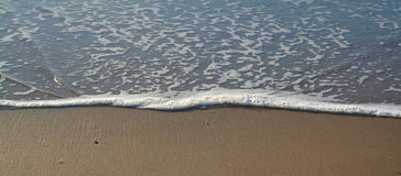 Sea Foam. With text space Royalty Free Stock Photos