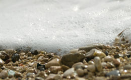Sea foam Royalty Free Stock Photography