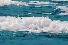 Sea foam Stock Photo