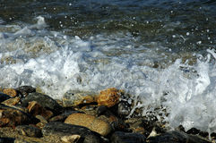 Sea foam Stock Photos