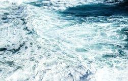 Sea foam Stock Image