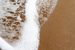 Sea Foam Beach Waves Stock Image