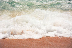 Sea foam close up Stock Images