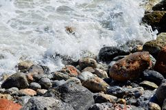 Sea foam Royalty Free Stock Images