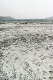 Sea foam in a storm Royalty Free Stock Photos