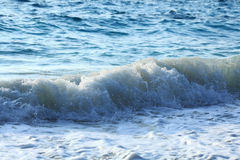 Sea foamy wave Stock Photo